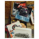 Lionel train advertising magazines, pictures