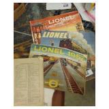 1947-57 vintage Lionel magazines