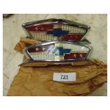 1954 Chevy rear emblems