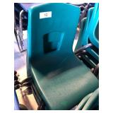 (4) Green Student Chairs