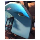 (2) Light Blue Student Chairs
