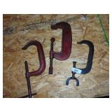 (3) C-Clamps