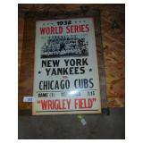 New York Yankees, Chicago Cubs 1933 Poster