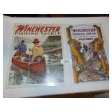(2) Winchester Tin Signs