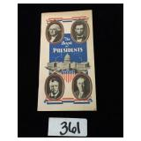 Book of Presidents 1948 Louisville Bank