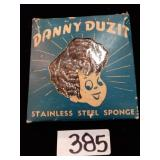 Danny Duzit Stainless Steel Scrubber In Package