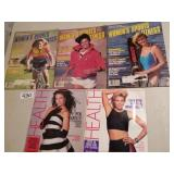 (5) Womens Health Sports Fitness Magazines 1980