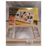 Travelite Lighted Cosmetic Mirror - Works