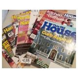 (10) This Old House, Handyman Magazines