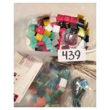Tote of Glass Mosaic Square Tiles Art Crafts