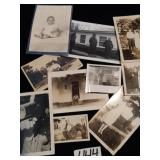 Lot of Old Black & White Photos