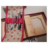 New Old Stock Heirloom Manicure Set