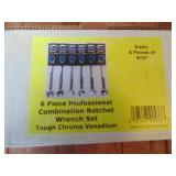 Powerbuilt 6pc. Ratchet Wrench Set