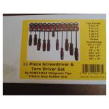 Powerbuilt 11pc. Screwdriver & Torx Driver Set