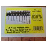 Powerbuilt 14pc. Combination Wrench Set (Metric)