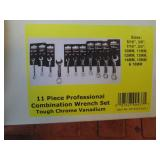 Powerbuilt 11pc. Combination Wrench Set