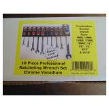 Powerbuilt 10pc Ratchet Wrench Set