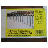 Powerbuilt 13pc. Combination Wrench Set