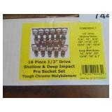 Powerbuilt 16pc. Impact Socket Set