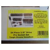 "Powerbuilt 54pc. 3/8"" Drive Socket Set"