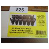 "Powerbuilt 12pc. 3/4"" Drive Socket Set (Standard)"
