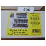 "Powerbuilt 36pc. 1/2"" Drive Socket Set (Metric)"