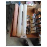 "(3) 18"" Paint Roller & Paint Brushes"