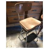 Cosco Metal Step Stool Chair