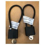 (2) Pad Locks w/ Keys