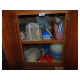 Contents of Cabinet (Plastic Containers)
