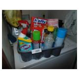 Cleaning Supplies, Trash Can Liners in Carry Tote