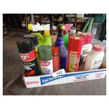Assorted Insect & Weed Killer (Partials)