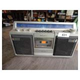 Sony AM/FM Cassette Player