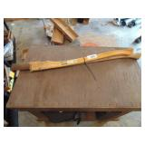 (2) Axe Handles - 1 Marked Hickory