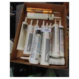 Assorted Caulking - Some New, Some Opened