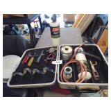 Propane Torch, Propane Fuel Tanks, Solder, Tools