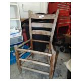 Ladder Back Chair - No Seat