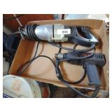 Black & Decker Electric Reciprocating Saw & Drill