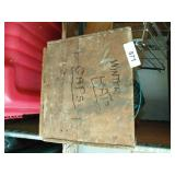 Wood Crate, Wire Basket, Hat, Decor, +