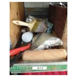 Painting Supplies - Brush, Rollers, Trays, Stirrer