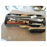 Metal Tool Tray w/ Assorted Tools