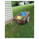 Ohio Steel Fabricators Garden Wagon with Contents