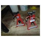 (2) 2 Ton Jack Stands
