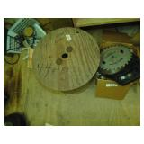 Large Quantity of Saw Blades w/ Small Wood &