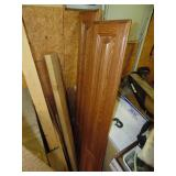 Assorted Boards and Cabinet Doors