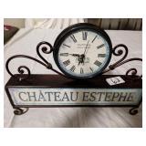 Chateau Estephe Clock