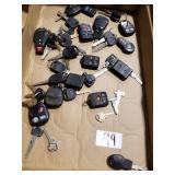 Car keys & remotes