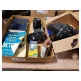 Camera, JVC recorder & Dictionarys