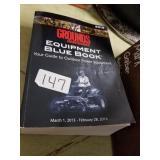 2013 Equipment Blue book