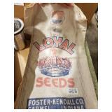 Loyal seed bag